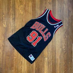 Dennis Rodman #91 Chicago Bulls Jersey Vintage